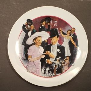 Avon Images of Hollywood Collector plate